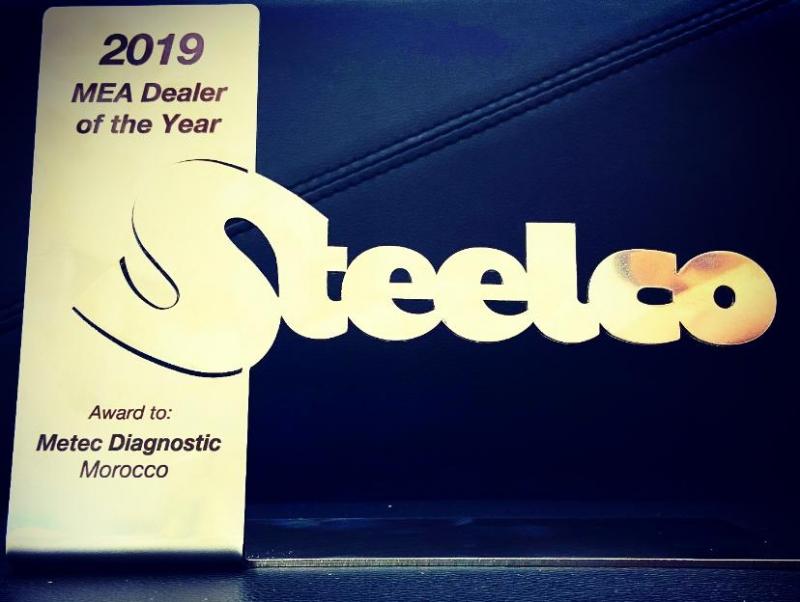 METEC DIAGNOSTIC Best Dealer of the year