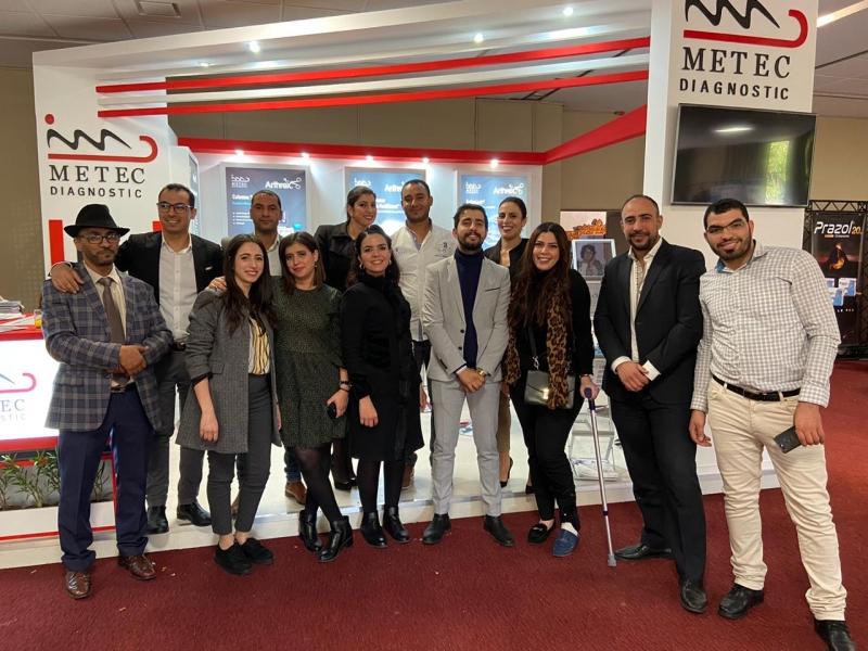 Participation Metec au congrès de la Société Marocaine d'Arthroscopie et de Chirurgie du Sport #SMA