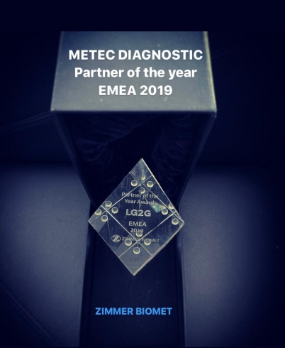 ONE MORE ACHIEVEMENT....     METEC DIAGNOSTIC PARTNER OF THE YEAR