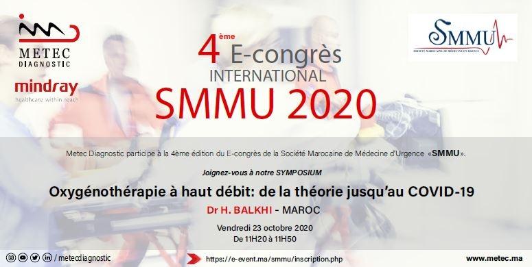 Participation Metec Diagnostic à la 4ème édition du congrès SMMU 2020