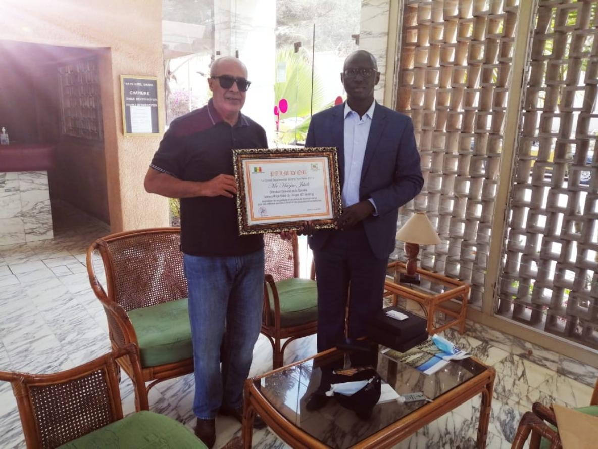 La Palme D'Or pour la caravane médicale marocaine au Sénégal